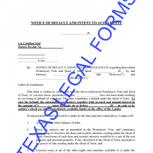 Texas Homestead Affidavit Form - Download Real Estate Legal