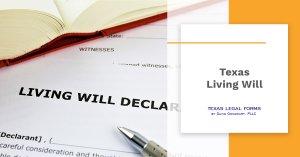 Texas Living Will